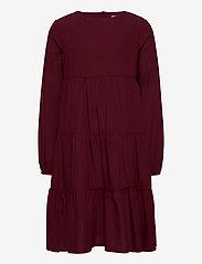 Wheat - Dress Fanny - burgundy - 0