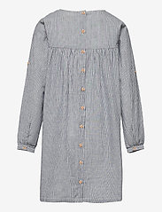 Wheat - Dress Anine - kleider - cool blue stripe - 1