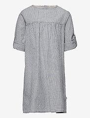 Wheat - Dress Anine - kleider - cool blue stripe - 2
