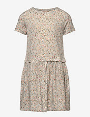 Wheat - Dress Adea - kleider - dusty dove flowers - 0
