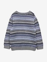 Wheat - Knit Pullover Alexander - dzianinowe - dark melange grey - 1