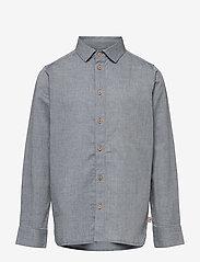 Wheat - Shirt Marcel - shirts - blue - 0