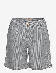 Wheat - Shorts Elvig - shorts - cool blue stripe - 0