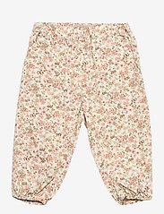 Wheat - Trousers Malou - bukser - eggshell flowers - 0