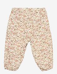 Wheat - Trousers Malou - bukser - eggshell flowers - 1