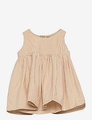 Wheat - Pinafore Wrinkles - kleider - taffy stripe - 0