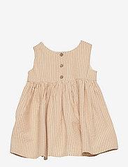 Wheat - Pinafore Wrinkles - kleider - taffy stripe - 1