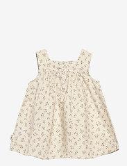 Wheat - Dress Ayla - kleider - eggshell flowers - 1