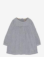 Wheat - Dress Anine - kjoler & nederdele - cool blue stripe - 0