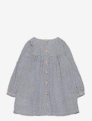 Wheat - Dress Anine - kjoler & nederdele - cool blue stripe - 1