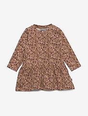 Wheat - Dress Kristine - robes - caramel flowers - 0