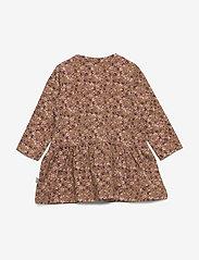 Wheat - Dress Kristine - robes - caramel flowers - 1