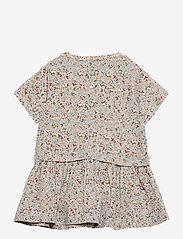 Wheat - Dress Adea - jurken - dusty dove flowers - 1