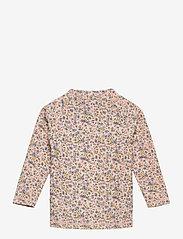 Wheat - Swim T-Shirt Alma - uv-clothing - blue flowers - 1