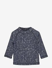 Wheat - Swim T-Shirt Dilan LS - koszulki - navy - 0