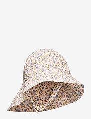 UV Sun Hat - BLUE FLOWERS