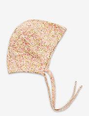 Wheat - Baby Rib Cap - hatte og handsker - bees and flowers - 0