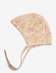 Wheat - Baby Rib Cap - hatte og handsker - bees and flowers - 1