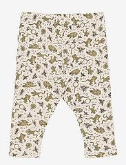 Wheat - Leggings Nicklas - leggings - eggshell frogs - 1