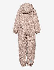Wheat - Suit Masi Tech - vêtements shell - rose flowers - 1