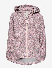 Wheat - Softshell Jacket Gilda - softshell jacket - eggshell flowers - 0