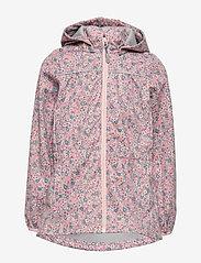 Wheat - Softshell Jacket Gilda - softshell jacket - eggshell flowers - 1