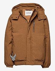 Wheat - Down Jacket Bertil - dunjakker & forede jakker - caramel melange - 0