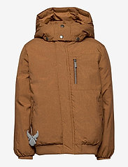 Wheat - Down Jacket Bertil - dunjakker & forede jakker - caramel melange - 1