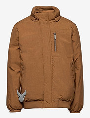 Wheat - Down Jacket Bertil - dunjakker & forede jakker - caramel melange - 2