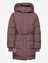 Wheat - Down Jacket Kamma - puffer & padded - eggplant melange - 2