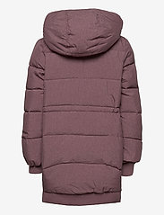 Wheat - Down Jacket Kamma - puffer & padded - eggplant melange - 4