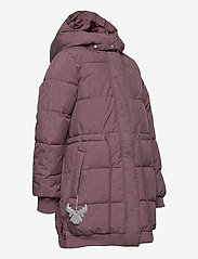 Wheat - Down Jacket Kamma - puffer & padded - eggplant melange - 6