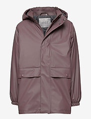 Wheat - Thermo Rain Coat Ajo - jassen - eggplant - 0