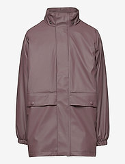 Wheat - Thermo Rain Coat Ajo - jassen - eggplant - 2