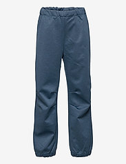 Wheat - Softshell Pants Jean - underdele - blue melange - 0