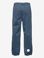 Wheat - Softshell Pants Jean - underdele - blue melange - 1