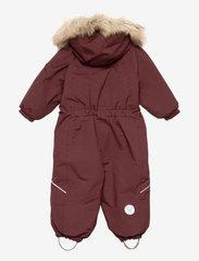 Wheat - Snowsuit Nickie Tech - snowsuit - maroon - 1