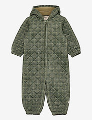 Wheat - Thermosuit Harley - thermo coveralls - olive check - 0