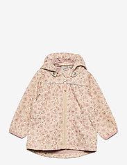 Wheat - Softshell Jacket Gilda - kapuzenpullover - soft beige flowers - 0