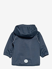 Wheat - Softshell Jacket Eddie - softshell-jakker - blue melange - 1