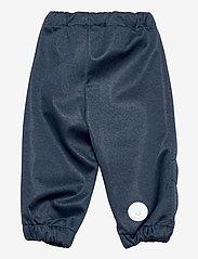 Wheat - Softshell Pants Jean - underdele - blue melange - 1