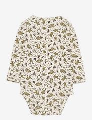 Wheat - Jersey Body - langærmede - eggshell frogs - 1