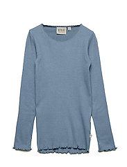 Rib T-Shirt Lace LS - FLINTSTONE