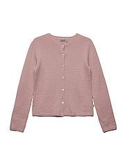 Knit Cardigan Betty - SOFT ROSE