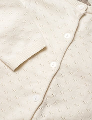 Wheat - Knit Cardigan Maja - gilets - ivory - 2