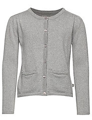 Knit Cardigan Ibi - MELANGE GREY