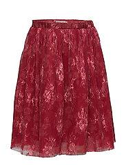 Skirt Harriet - DARK BERRY