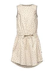 Dress Vilde - EGGSHELL FLOWERS