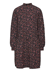 Dress Rebekah - PETROLEUM FLOWERS
