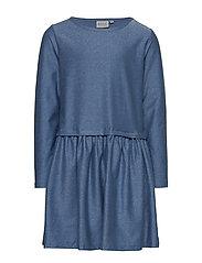 Dress Astrid - BLUE SILVER